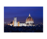 Basilica Santa Maria Del Fiore At Sunrise Photographic Print by Francesco Carovillano