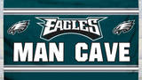 NFL Philadelphia Eagles Man Cave Flag with 4 Grommets Flag
