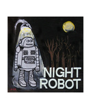 Night Robot Photographic Print by Andrew Fitzpatrick
