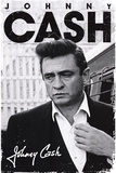 Johnny Cash Signature Music Poster Reprodukcje