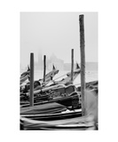 Venetian Gondolas Photographic Print by Francesco Carovillano