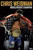 UFC - Chris Weidman Sports Poster Posters