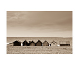 Fishermen Village In Gotland Photographic Print by Francesco Carovillano