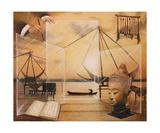 La Trace Zen Du Pinceau Photographic Print by Frank Godille