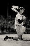 Ted Williams On Deck Boston Red Sox Sports Poster Photo