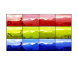 Primary Color Photographic Print by Morgan Paslier
