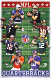 NFL - Quarterbacks Sports Poster Print
