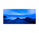 Wild Elba Island Seascape At Night Photographic Print by Francesco Carovillano