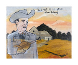 Bob Wills Is Still The King Photographic Print by Andrew Fitzpatrick