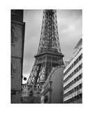 Eiffel Tower From Avenue Rapp Photographic Print by Francesco Carovillano