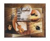 Contrepoint Melodique De Chopin Papier Photo par Frank Godille