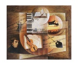 Contrepoint Melodique De Chopin Fotodruck von Frank Godille