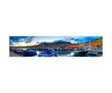 Panoramic View Of Portoferraio At Sunset Photographic Print by Francesco Carovillano