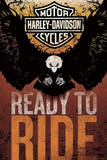 Harley Davidson - Ready to Ride Poster Photo