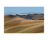 Crete Senesi Photographic Print by Francesco Carovillano