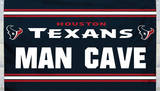 NFL Houston Texans Man Cave Flag with 4 Grommets Flag