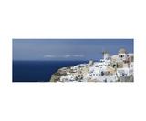 Panorama Of Santorini, Greece Photographic Print by Francesco Carovillano