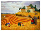 Village Harvest Posters by Lowell Herrero