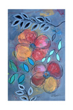 Modern Grey Floral II Poster por Ruth Palmer