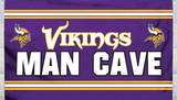 NFL Minnesota Vikings Man Cave Flag with 4 Grommets Flag