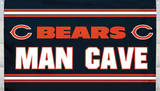 NFL Chicago Bears Man Cave Flag with 4 Grommets Flag