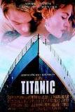 Titanic (Leonardo Dicaprio, Kate Winslet) Movie Poster Kunstdrucke