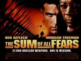 The Sum of All Fears (Ben Afflack, Morgan Freeman) Movie Poster Prints