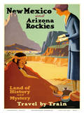 New Mexico and Arizona Rockies - Land of History and Mystery Prints by Kenneth and William Willmarth