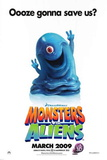 Monsters Vs. Aliens Movie Poster Posters