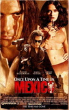 Once Upon A Time In Mexico (Antonio Banderas, Johnny Depp) Movie Poster - Posterler