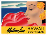 Hawaii And South Seas - Matson Lines Posters by Frank MacIntosh