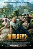 Journey 2 The Mysterious Island (Dwane Johnson, Vanessa Hudgens, Chris Hutcherson) Movie Poster Poster