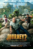 Journey 2 The Mysterious Island (Dwane Johnson, Vanessa Hudgens, Chris Hutcherson) Movie Poster Poster
