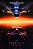 Star Trek 6 - The Undiscovered Country (William Shatner, Leonard Nimoy) Movie Poster Print
