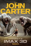 John Carter (Taylor Kitsch, Lynn Collins) Movie Poster Photo