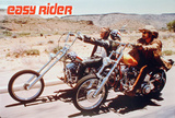 Easy Rider (Dennis Hopper, Peter Fonda) Movie Poster Posters