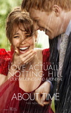 About Time (Rachel McAdams, Domhnall Gleeson) Movie Poster Poster