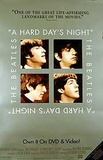 A Hard Day's Night (Paul McCartney, John Lennon, George Harrison) Video Release Movie Poster Poster