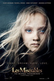 Les Miserables (Hugh Jackman, Russell Crowe, Anne Hathaway, Amanda Seyfried) Movie Poster Fotografía