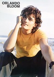 Orlando Bloom - Beach Poster Posters