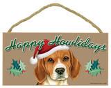 Happy Howlidays Beagle Wood Sign Wood Sign