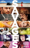 Savages (John Travolta, Salma Hayak, Taylor Kitsch, Uma Thurman) Movie Poster Posters