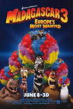 Madagascar 3: Europe's Most Wanted Movie Poster Photographie
