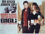 Gigli (Ben Affleck, Jennifer Lopez) Movie Poster Poster