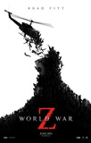 World War Z (Brad Pitt, Mireille Enos, Daniella Kertesz) Movie Poster Affiche