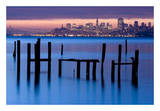 Bay Pilings – Sausalito Posters by Jeffrey Murray