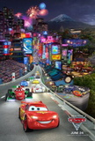 Cars 2 (Owen Wilson, Michael Caine) Movie Poster Print