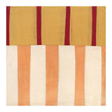 Broken Stripes 3 Poster by Laura Nugent