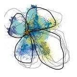 Azure Petals I Kunst af Jan Weiss