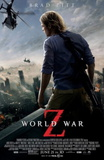World War Z (Brad Pitt, Mireille Enos, Daniella Kertesz) Movie Poster Poster
